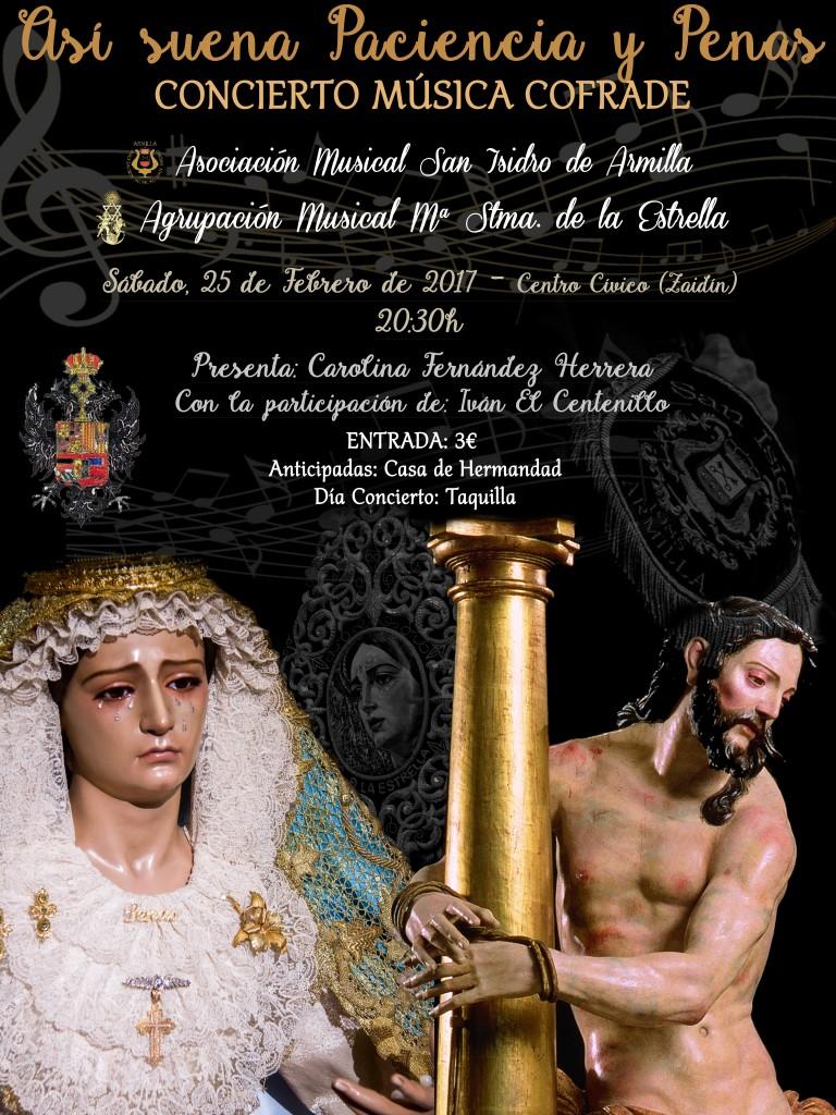 CARTEL Concierto 25Feb