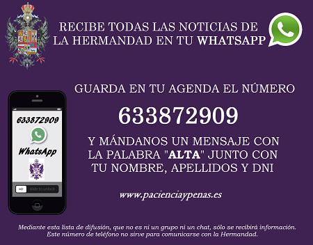 cartel whatsapp peq